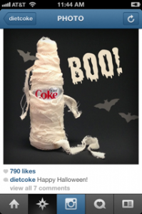 Diet Coke Social Image Example